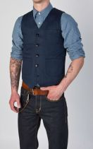 colete-camisa-chambray-jeans