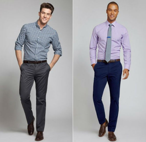business casual masculino - camisas