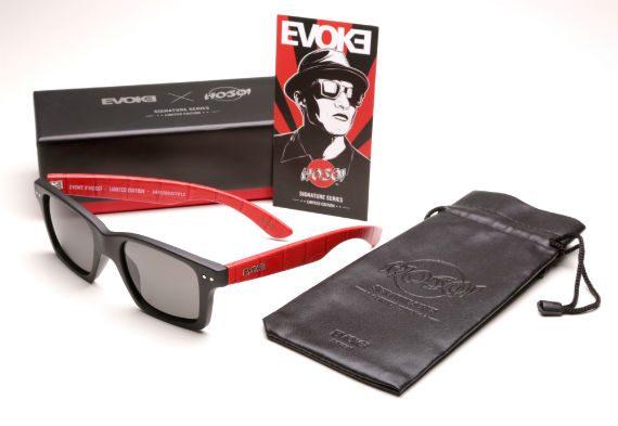 Hosoi Assina Edição Limitada de Óculos da Evoke