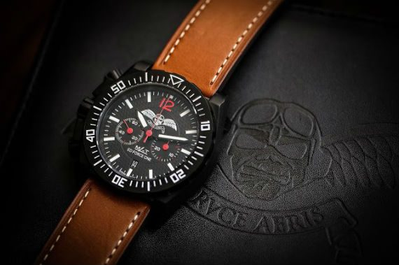 Bruce Dickinson Lança Relógio Pela Matwatches - Bruce Aeris - Ed Force One