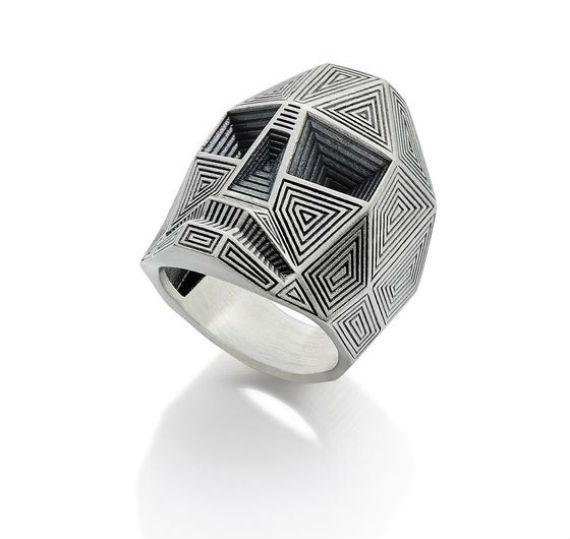 Como usar anéis masculinos