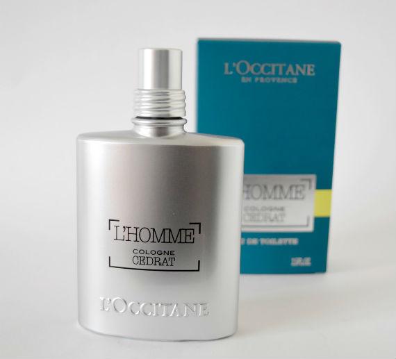 Testamos: Cedrat L'Homme Cologne da L'Occitane