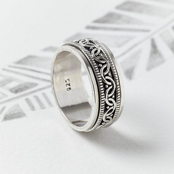Anéis Masculinos Para Comprar Pela Internet - Anel celta de prata