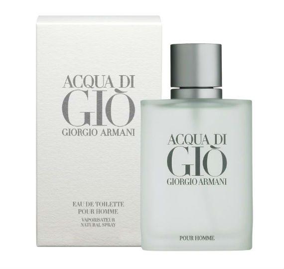 Acqua di Gio - Perfumes Masculinos Para o Verão