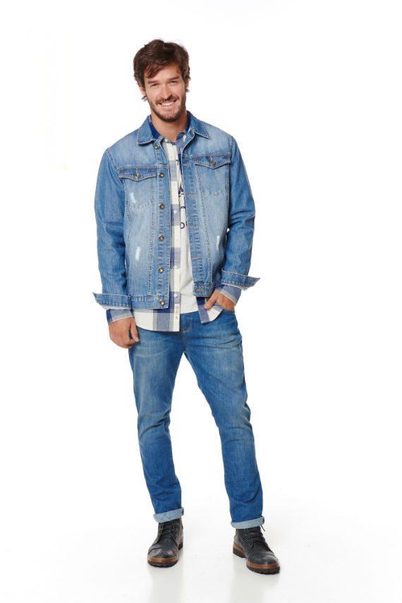Look double jeans Pernambucanas