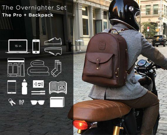 Duffle Backpack: Uma Mochila de Couro 6 em 1