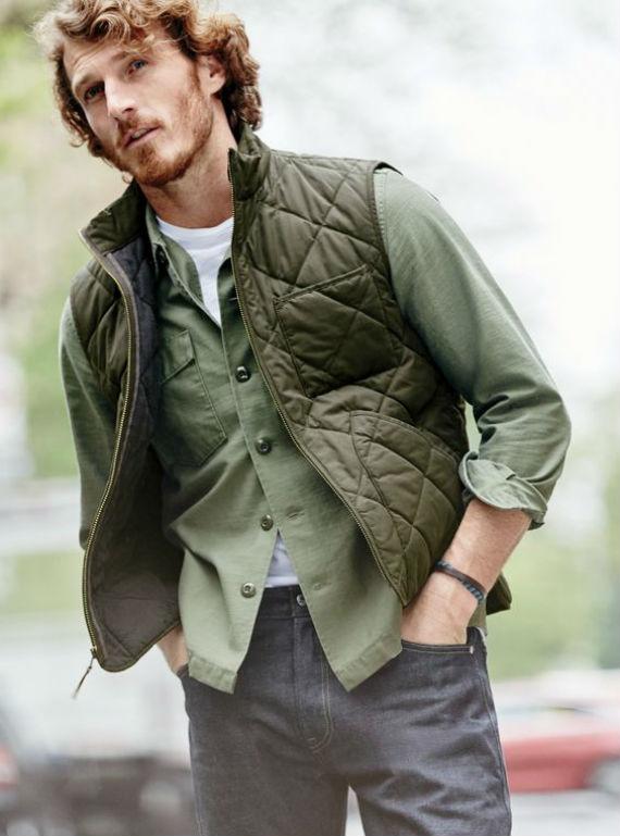 O Look Certo: Camadas de Verde para o outono
