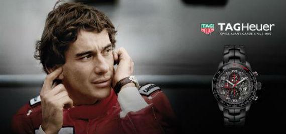 Tag Heuer Apresenta a Nova Coleção Ayrton Senna