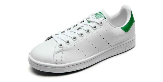 Tênis brancos de couro