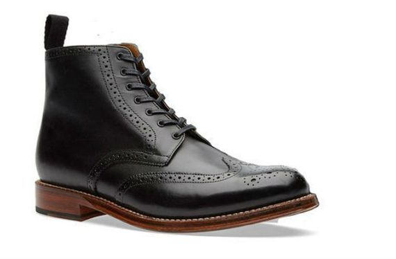 Dress Boots com brogues e wingtip