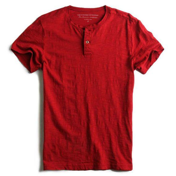 Camisa Henley