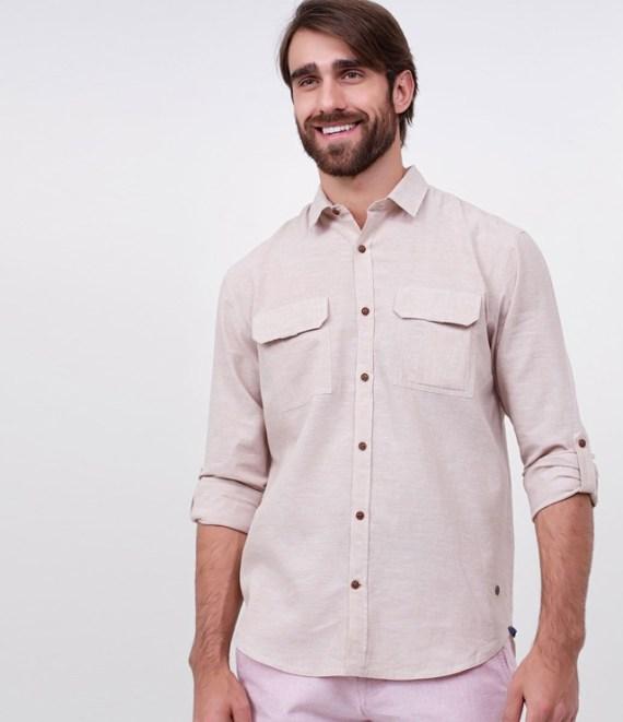 6 Camisas de Linho Masculinas Para Comprar Pela Internet