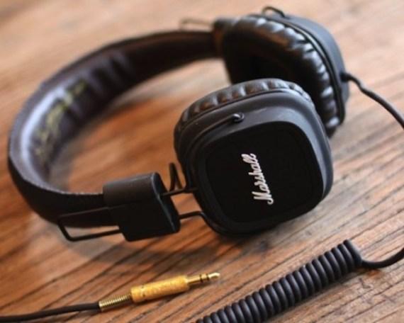Headphone Marshall Major Preto