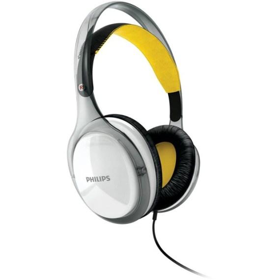 Fone de Ouvido Philips Supra Auricular Branco/Amarelo