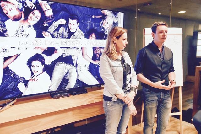 Barbara Duarte e Ricardo Terrazo Jr. falando sobre street s e moda prática