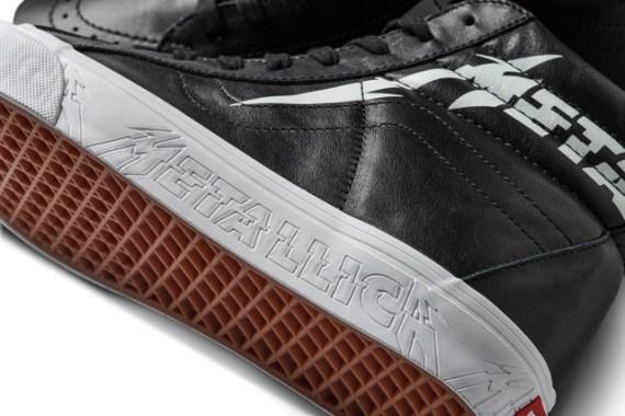Vans e Metallica Fazem Nova Coleção Colaborativa - Vans Sk8-Hi
