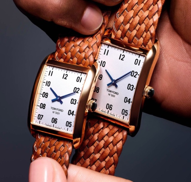 Relógio Tom Ford 001 Já Nasceu Clássico