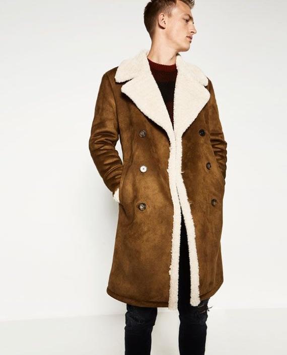 Shearling Jacket e Shearling Coat: As Roupas Mais Bacanas Que Você Não Vai Usar