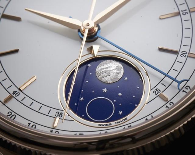 Partes do Relógio de Pulso - Complicações - Fases da lua