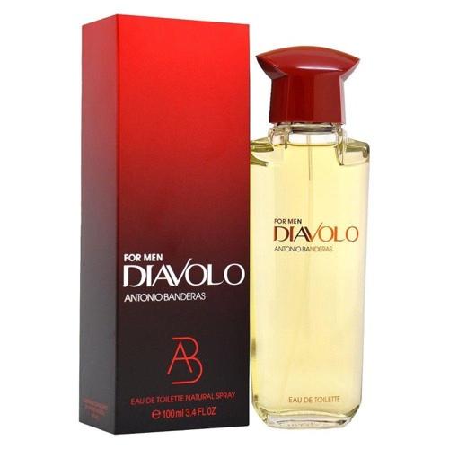 Testamos: Perfume Antônio Banderas Diavolo For Men