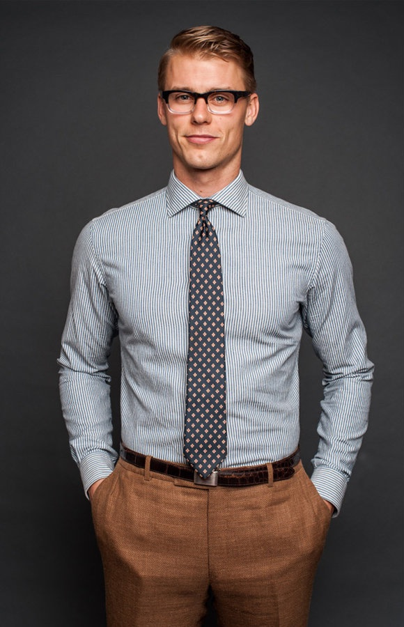Como Combinar Camisa e Gravata Se Você Trabalha Sem Paletó