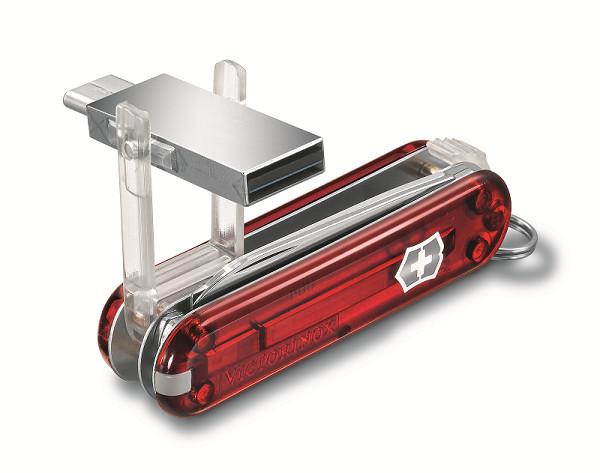 Victorinox Lança Canivete com Pen Drive de 16 GB