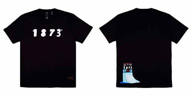 Levi's Lança Coleção de Camisetas Com o Artista Cusco Rebel