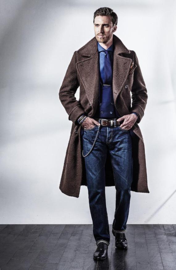 7 Looks Masculinos Usando Ulster Coat
