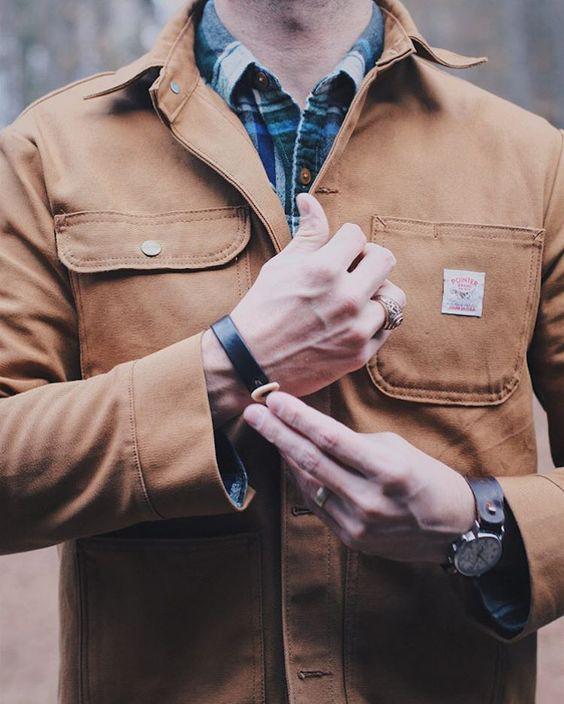 Chore Coat é a Próxima Aposta da Moda Masculina