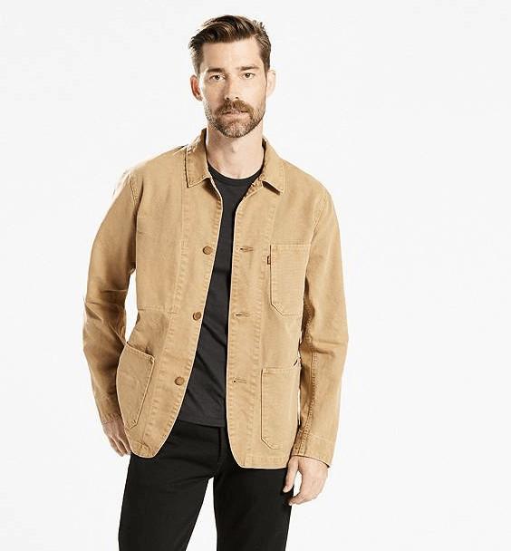 Resultado de imagem para Chore coat moda masculina