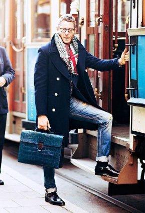 bolsa-masculina-briefcase-couro-croco