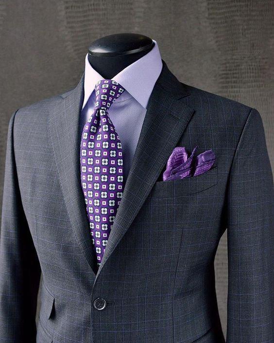 Guia de Como Combinar Terno Cinza Com Camisa e Gravata