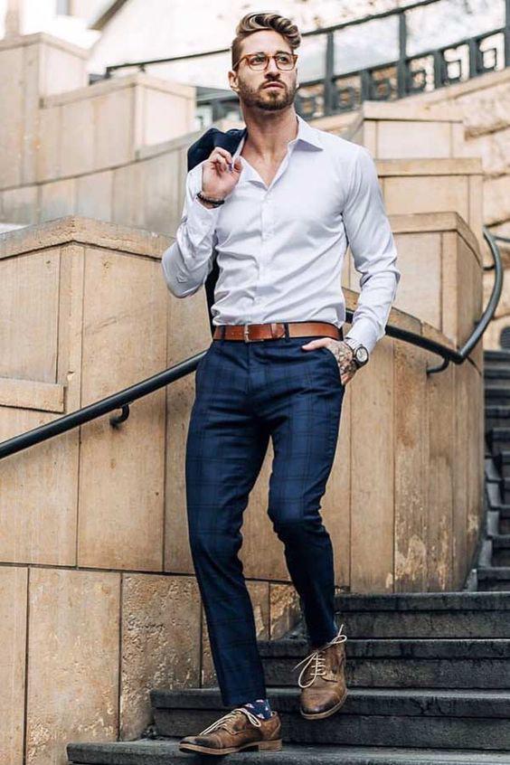 Look Certo: Sapato Casual com Roupa Formal