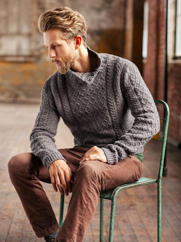 A História do Suéter de Tricô Masculino