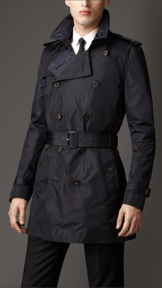 Trench coat Burberry de nylon