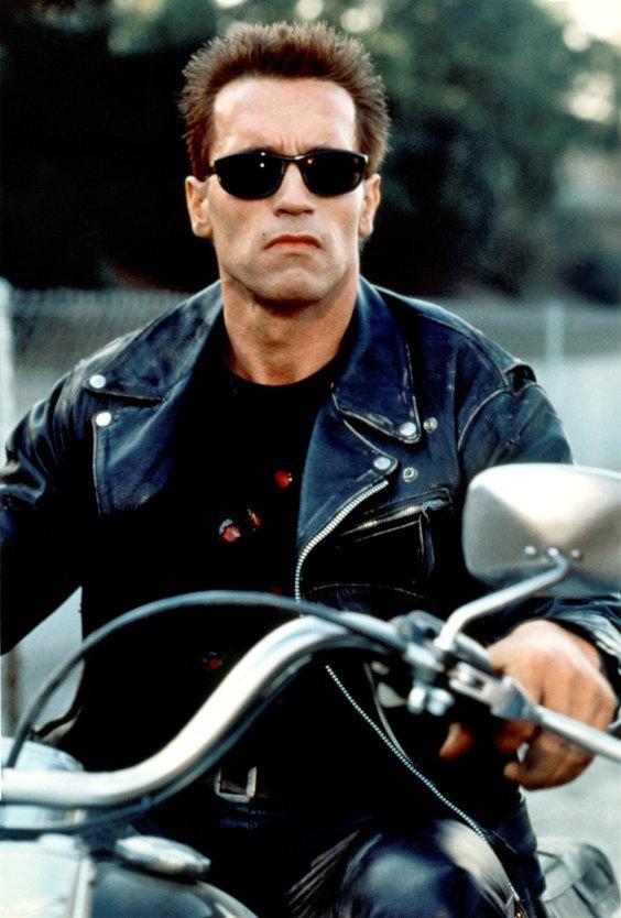 Arnold Schwarzenegger no filme Exterminador do Futuro 2 de 1992