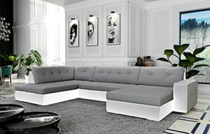 Canapé d'angle panoramique