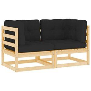 Canapé d'angle extérieur