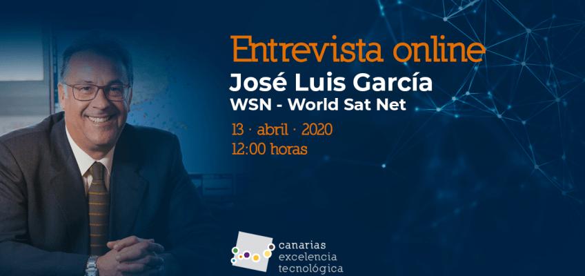 Entrevista online con José Luis García, de WSN