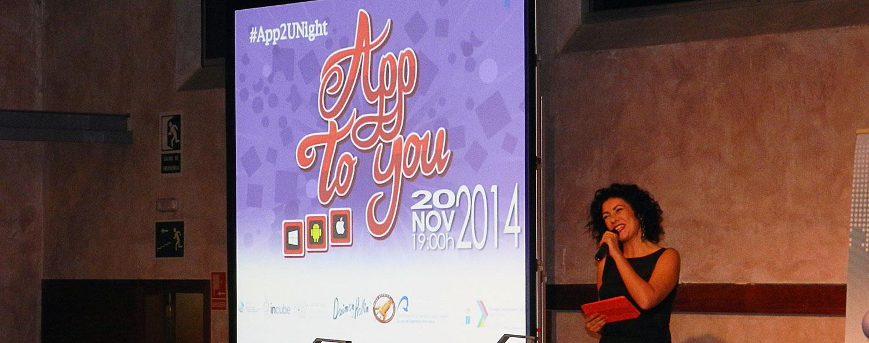 Momento de la presentación de App to you 2014