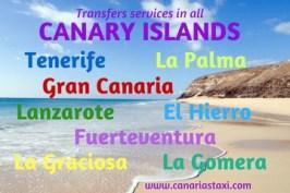 Canary Islands - Tenerife - Gran Canaria - Fuerteventura - Lanzarote - La Palma - La Gomera - El Hierro - La Graciosa