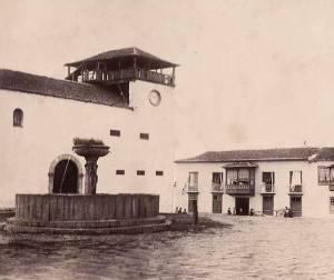 Fuente de agua clara. 1890. Foto Miguel bravo.