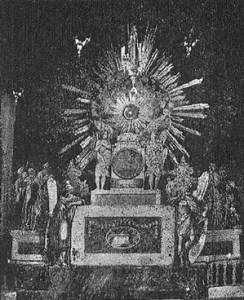 El monumento del Jueves Santo