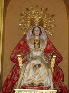 Imágen de la Virgen de los Reyes