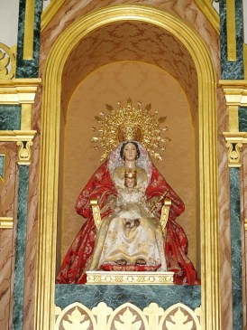 Imágen de la Virgen de los Santos Reyes