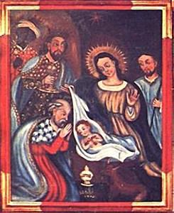 Cuadro de los Santos Reyes