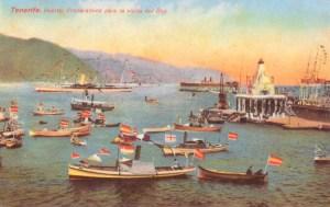 Visita de Alfonos XIII a Canarias