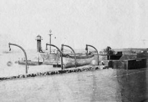 Muelle de Santa Cruz, entre el 14 de agosto de 1862 y el 16 de agosto de 1862