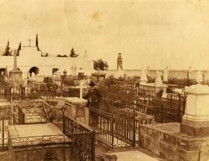 Cementerio de San Rafael y San Roque, Santa Cruz de Tenerife (FEDAC) Circa 1888.