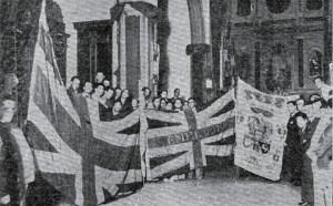 1936-05-30 entrega de las banderas al ayuntamiento